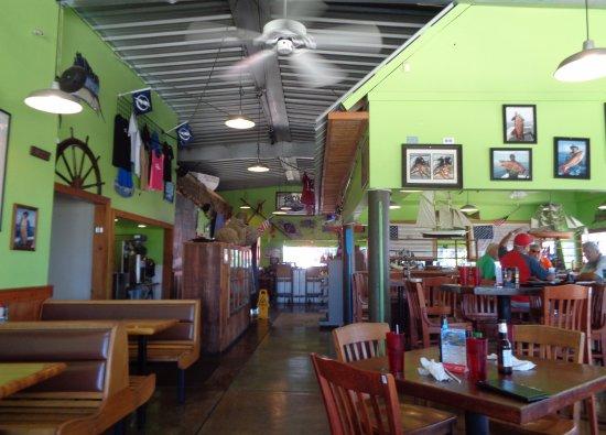 Hudson, FL: Get Hooked Dining Room