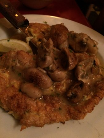 Johnson City, État de New York : Chicken Marsala