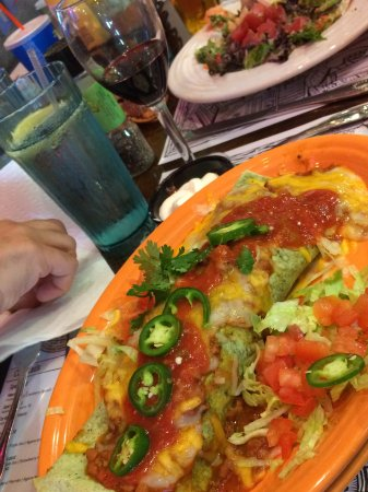 Geddys : The burrito that ate Bar Harbor.