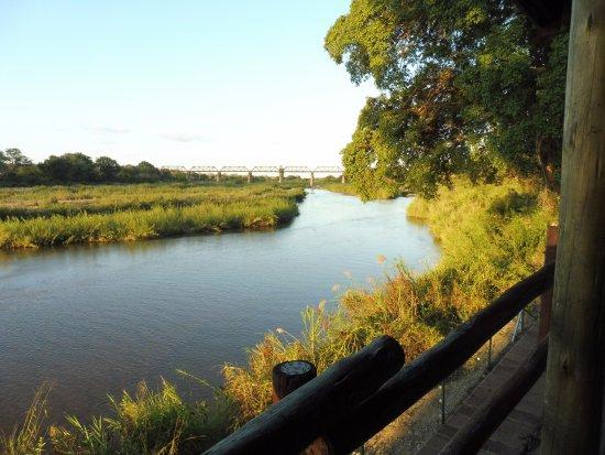Skukuza Rest Camp: vista dal rest camp