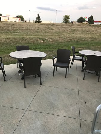 Avoca, IA: outside dining or sitting