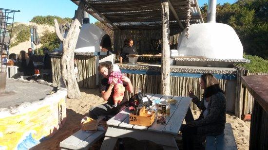 "Witsand, Güney Afrika: Eating ""on the beach"""