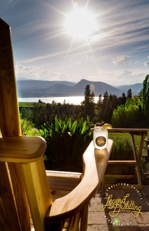 Naramata, Kanada: A beautiful Okanagan Day on the patio