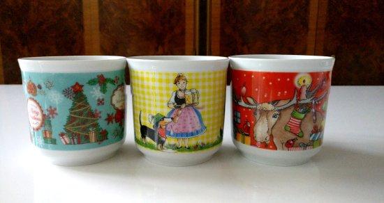 Gmund am Tegernsee, Germania: Famous Käfer china mugs for Christmas and Oktoberfest