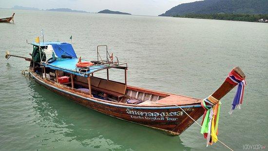 Lanta Old Town: Long Boat