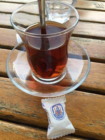Cafe Carpouza: Çay harika