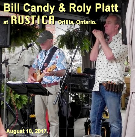 Orillia, Kanada: The weather co-operated to provide an excellent evening on the Rustica patio.