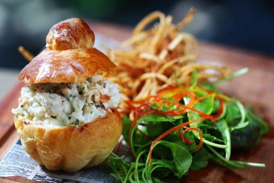 Cap Estate, St. Lucia: Lobster Brioche