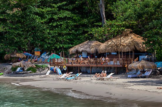 The Naked Fisherman Bar and Grill : Where would you like to sit