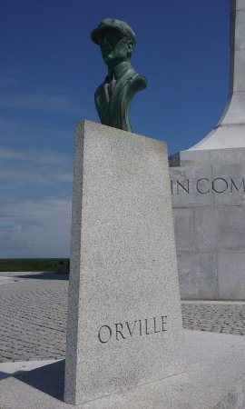 Kill Devil Hills, Carolina del Norte: Orville Wright bust