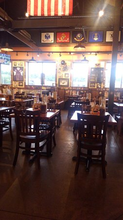 Ellicott City, MD: The main dining room.