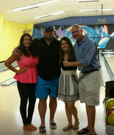 Fun family day at The Gulf Bowl in Foley, Alabama! Enjoyed bowling and playing arcade games...fa