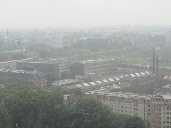 Beffroi de Lille : shame its still raining sure the views are great when the sun is shinning