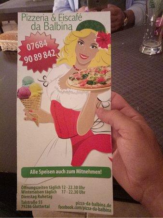 Glottertal, Germany: שם המסעדה