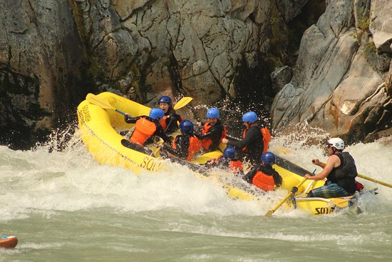 Brackendale, Canada: Squamish Rafting day out