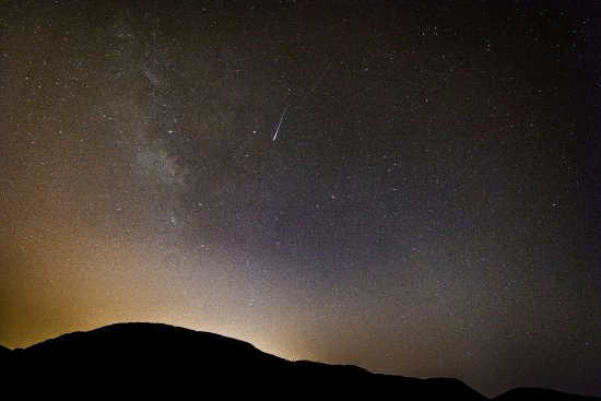 What's Up Observatory: Perseids and Milky Way