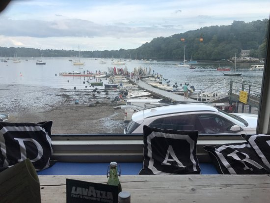 Ferry Boat Inn: View from the window