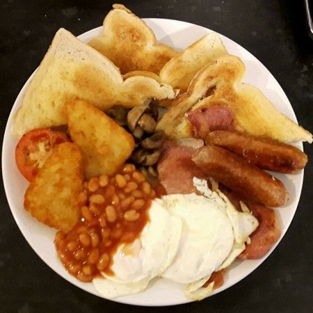 Magor, UK: Large Breakfast at Donnie's