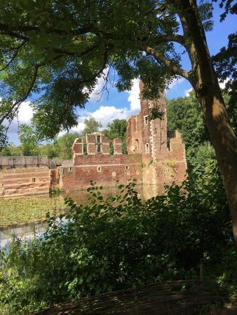 Landgraaf, Holandia: Kasteel vanaf het Hooghe Eylandt