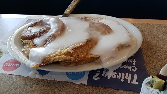 Ellsworth, ME: Breakfast - French Toast Cinnamon Bun