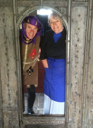 Thirsk, UK: Medieval day celebrated at St Mary's Church Leake
