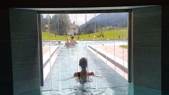 Entrata in piscina all 39 aperto picture of qc terme - Piscina pozza di fassa ...