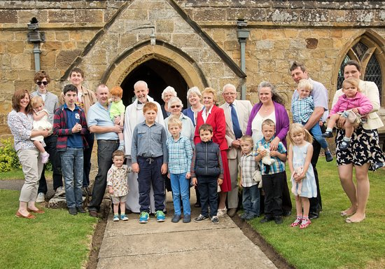 Thirsk, UK: A special service to welcome back those baptised at Leake