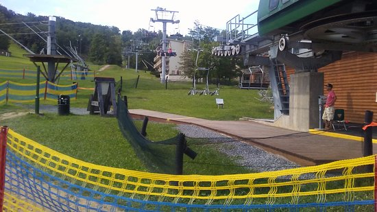 The Pines: Chair lifts.