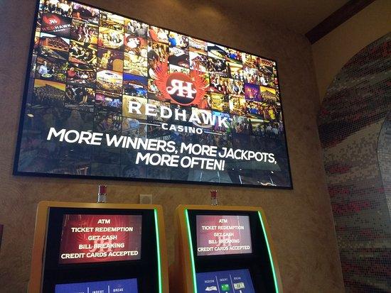 ปลาเซอร์วิลล์, แคลิฟอร์เนีย: welcome to Redhawk, will you be a BIG winner?