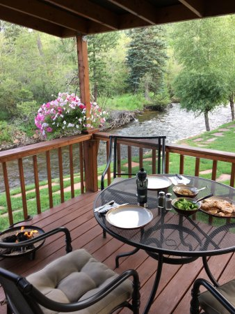 Paradise on the River: Deck view