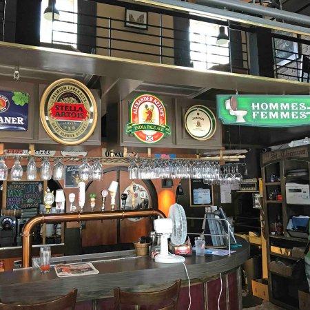 Sorel, Καναδάς: Bar counter