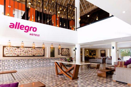 Allegro Cozumel: Main Lobby