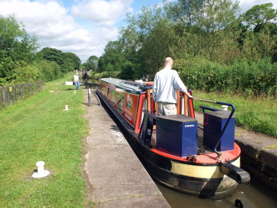 Congleton, UK: 'Etruria' at Bosley Locks