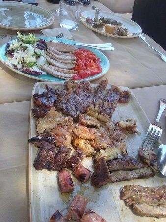 Biar, Spain: Carne a la brasa