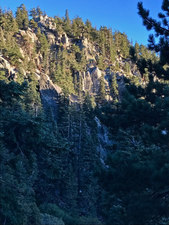 Idyllwild, CA: Getting close to the top of the Devil's Slide Trail.