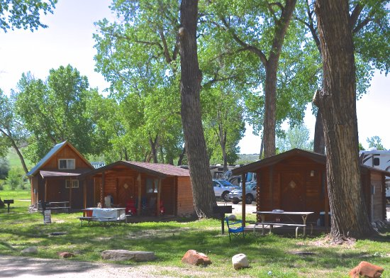Riverview RV Park: Rustic Cabin's for rent
