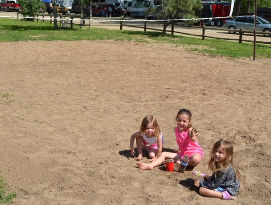 Riverview RV Park: Family area's