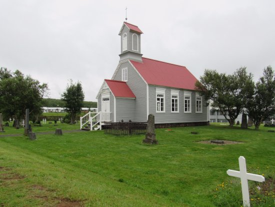 Reykholt, IJsland: Church