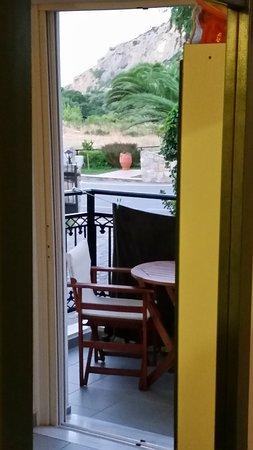 Sougia, Grecia: View to the balcony