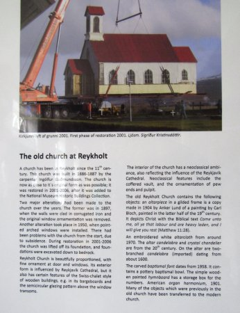 Moving the Church to Reykholt