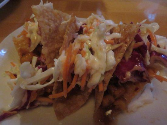 Lake Mary, FL: Wonton tacos appetizer