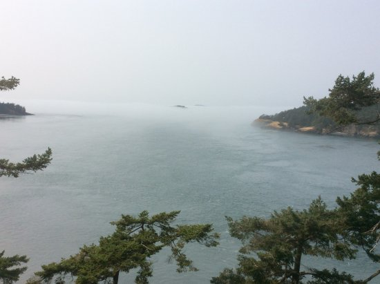 Oak Harbor, Waszyngton: View fro Deception Pass Bridge