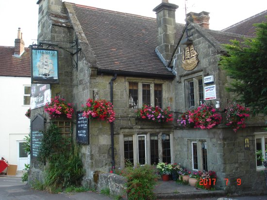 Shaftesbury, UK: Inn - Closer view
