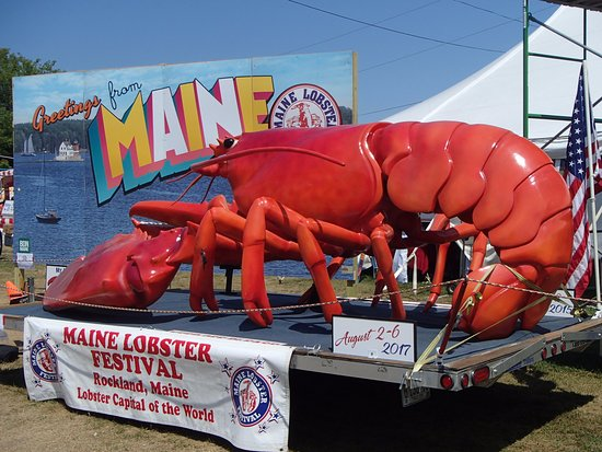 Rockland, ME: 70th annual Lobster Fest