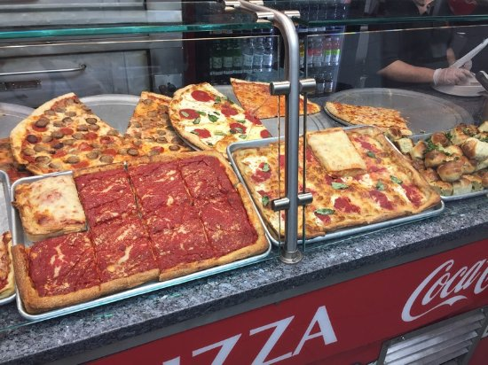 pizza picture of little italy pizza new york city tripadvisor. Black Bedroom Furniture Sets. Home Design Ideas