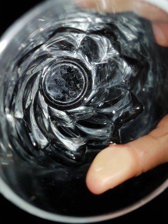 Merine Apulia, Italien: Bicchieri pieni di calcare
