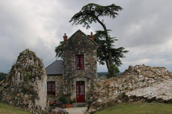 Domfront, Prancis: Het conciërgehuisje is een juweeltje