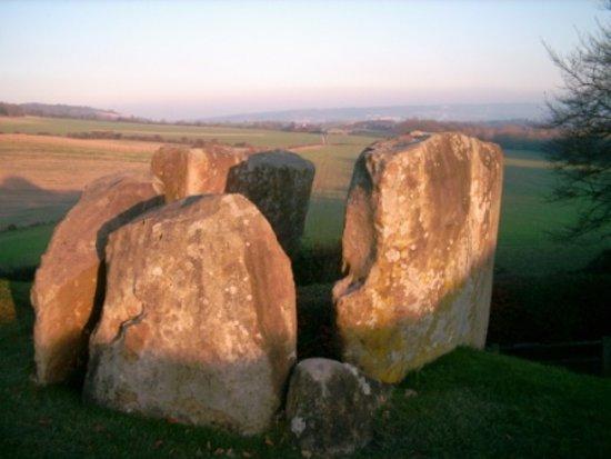 Boughton-under-Blean, UK: Coldrum stones Medway- part of the Pilgrims' Way walk (photographer R.Brown)