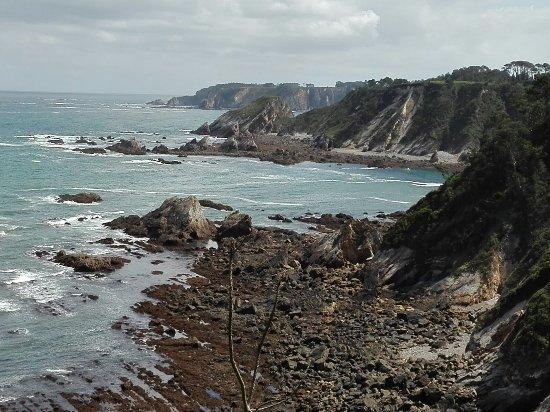 Coana, Spain: Senda costera