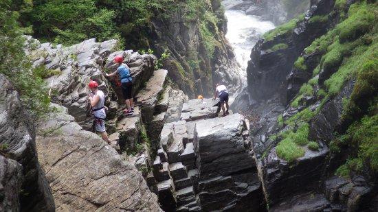 Canyon Sainte-Anne: Via ferrata
